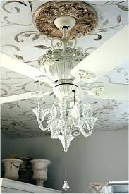flush mount chandelier ceiling fan girl