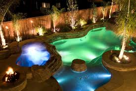 pool landscape lighting ideas. beautiful pool chic backyard lighting ideas 37 brilliant throughout pool landscape