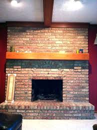 refacing a brick fireplace with stone veneer refinish brick fireplace cost to reface brick fireplace with