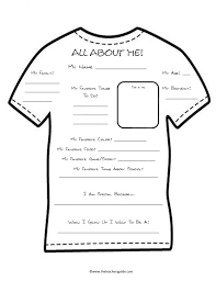 About Me Worksheets Middle School Worksheets for all | Download ...