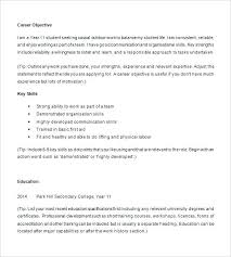 High School Resume For College Sample Student Example Athletic