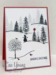 Image result for stampin up christmas tree card