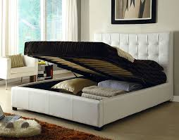 Modern Bedroom Bed Athens White Queen Size Bed Athens At Home Usa Modern Bedrooms