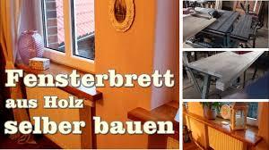 Fensterbank Holz Innen Einbauen Wohn Design