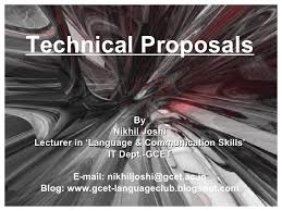 Technical Proposal Templates 10 Technical Proposal