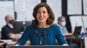 Kathy Hochul becomes New York's first ...