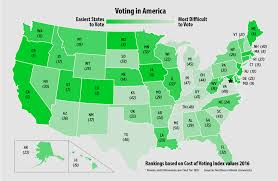 Us Voter Turnout Chart New Study Scrutinizes Time And Effort It Takes To Vote In