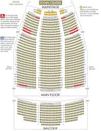 Moore Theater Seattle Seating Chart Flynntix Flynn Center Mainstage Seat Map