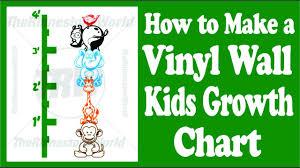Free Cricut Growth Chart Creating A Custom Kids Animal Growth Chart Using Fdc Wall Vinyl And A Vinyl Cutter