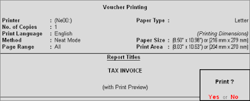 Creating A Commercial Invoice