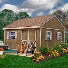 12 ft wood storage shed kit