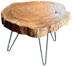 Proudly made in america with free delivery to 48 states. Amazon Com Wzhong Nordic Log Coffee Table Original Ecological Furniture Table Coffee Table Low Table Size 82758cm Furniture Decor