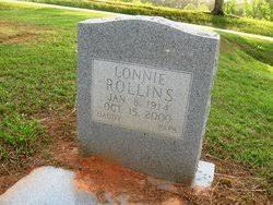 Lonnie Rollins (1914-2000) - Find A Grave Memorial
