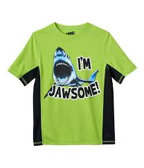 Hang Ten Size Chart Hang Ten Boys Jawsome Graphic T Shirt