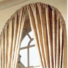 arched window treatments. Arch Window Rod Arched Treatments D