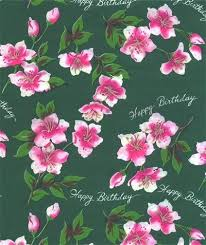 happy birthday pink and green happy birthday wrapping paper green sandycreekcollectables