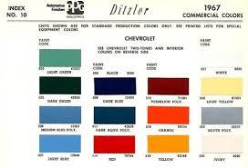 Original Paint Color Codes Paint Color Codes Chevy Trucks
