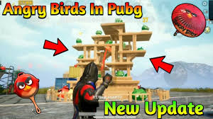 Angry Birds In Pubg Mobile - Pubg Mobile X Angry Birds Collaboration -  YouTube
