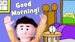 good morning song for kids you