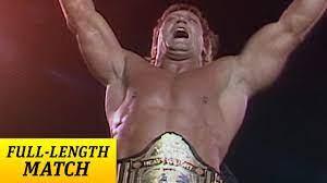 FULL-LENGTH MATCH - Hulk Hogan vs. Paul ...