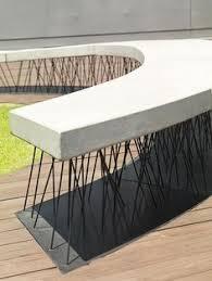 urban furniture designs. Tangram \u2014 De Lazzari MU | CAP Pinterest Bench, Concrete And Table Urban Furniture Designs