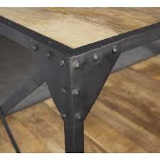industrial metal and wood furniture. Industrial Metal And Wood Furniture