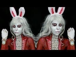 alice in wonderland white rabbit makeup tutorial