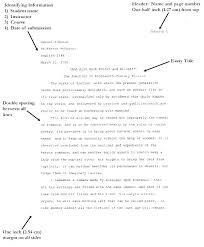 Essay Apa Format Examples Sample Essay Apa Format Format Sample Essay Sample Research Paper