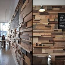 wall cladding using reclaimed timber wall cladding
