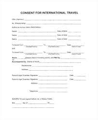 Child Travel Consent Form Template Parental Uk – Bbfinancials.info