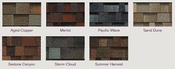 architectural shingles colors. Owens Corning TruDefinition® Duration® Designer Colors Collection Architectural Shingles E
