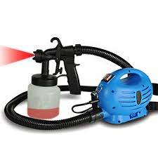 homepro 800 ml spray paint machine blue home18