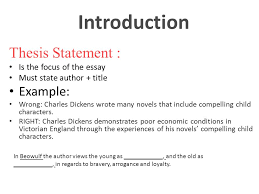 introduction attention grabbers can narrative anecdote tell a introduction thesis statement is the focus of the essay must state author title example
