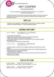 Accounting Clerk Resume Outathyme Com