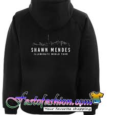 Shawn Mendes Hoodie Size Chart Shawn Mendes Illuminate World Tour Hoodie