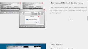 Total Copier File Copy Software Review For Windows Youtube