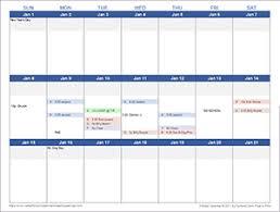 Academic Weekly Calendar Free Calendars And Calendar Templates Printable Calendars