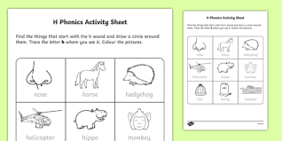 Note how we organize the letter columns below each cvc word in these power phonics worksheets. H Phonics Worksheet Worksheet Irish Worksheet