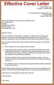 Unusual Effective Cover Letter Samples 15 Writer Sample Cv