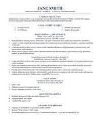 a resume template