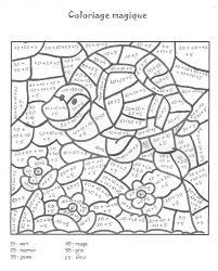 Coloriages Magiques Dedans Coloriage Magique Ce1 Multiplication A