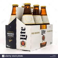 Miller Light Six Pack Winneconne Wi 14 Oct 2015 Six Pack Of Miller Lite Beer In