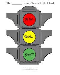 Traffic Light Chart Behaviour Traffic Light Behavior Chart Free Printable