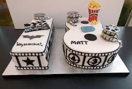 Cinema Themed 18th Birthday Cake Susies Cakes