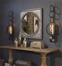 alluring metal wall sconces falconara large metal candle wall sconce home accessories