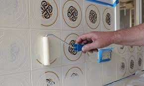 painting tile wallsHow to paint tiles  Bunnings Warehouse