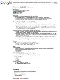 10 crazy resumes that got the job training com au designer eric gandhi posted a google search themed resume on linkedin where it was spotted by a google employee who set him up an interview