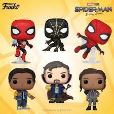 Spider-Man: No Way Home Funko Pops Are ...