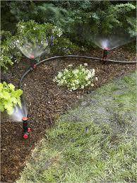sprinkler system diy garden irrigation