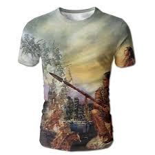 Amazon Com Dimannu Mens 3d Full Print T Shirt Best Native